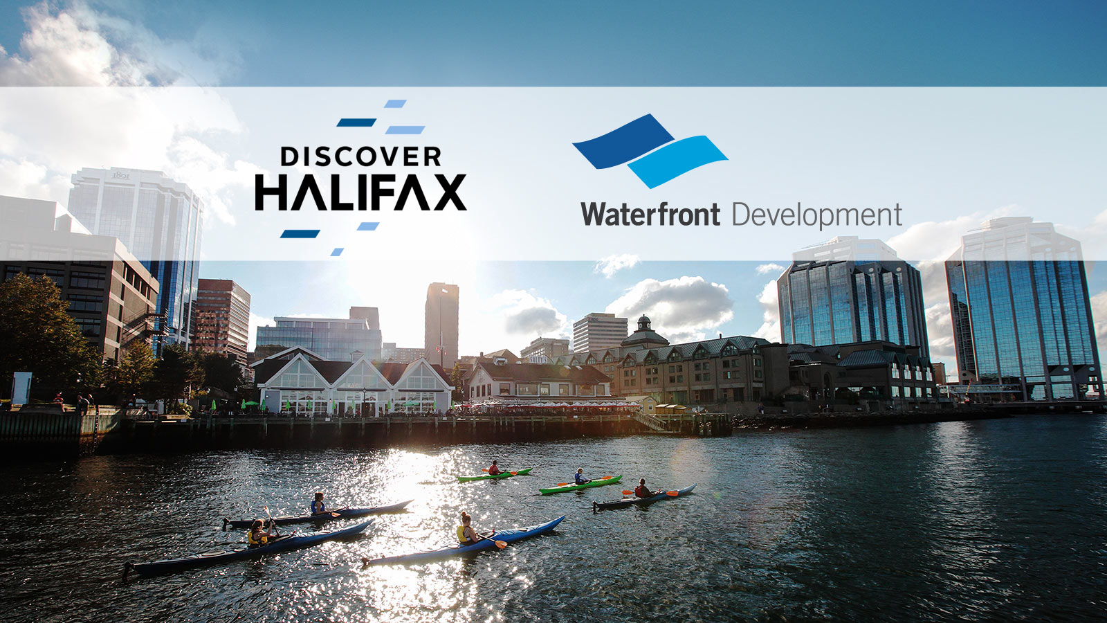 Halifax Waterfront and Discover Halifaxayaking-Hfx-Harbour_Logos
