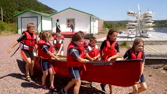 Route Saint-Pierre et Miquelon Sailors for the Sea