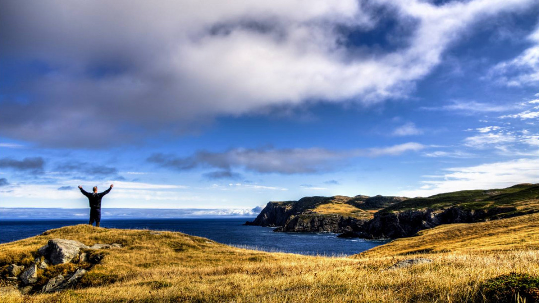 Paysage de Miquelon-Langlade, Saint-Pierre et Miquelon,photo Franck Le Bars