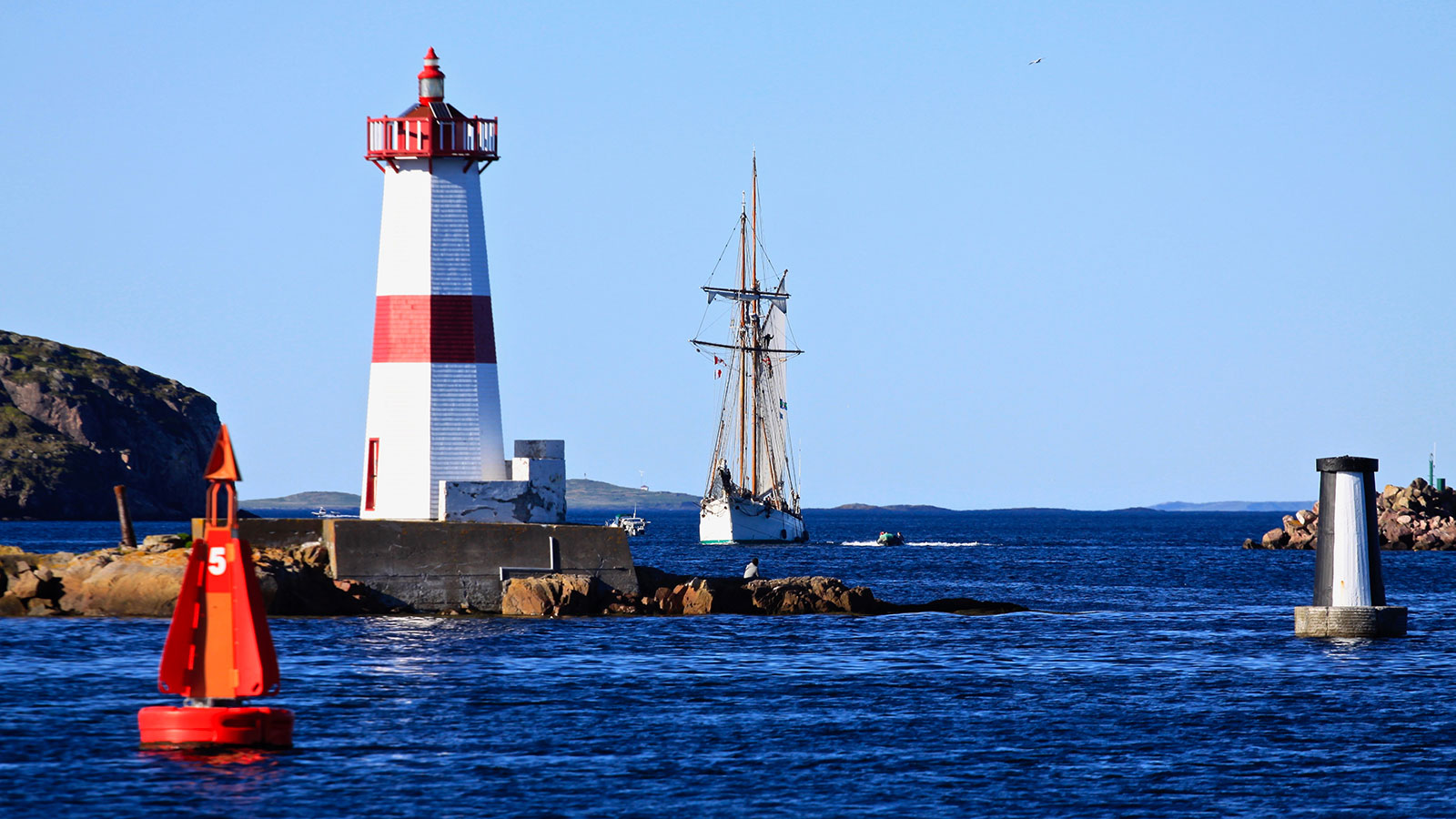Port de Saint-Pierre et Miquelon Photo Patrick Allain