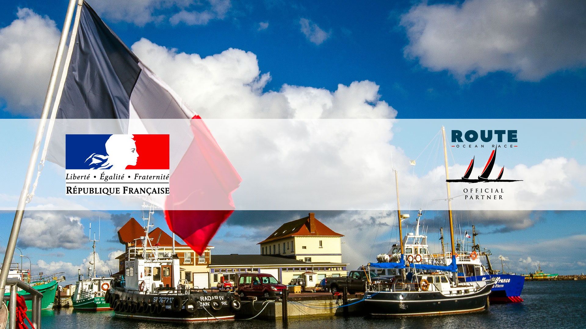 The French State, Official Partner of Route Saint-Pierre et Miquelon